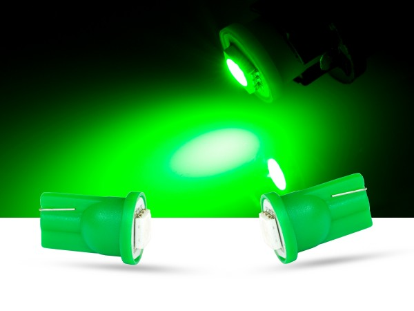 1er SMD LED Innenraumlicht, LEDW5W T10, grün