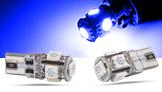 SMD LED Spots, blau