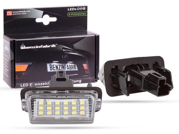 LED Kennzeichenbeleuchtung Module Toyota Corolla Lim. ab 2012, mit E-Prüfzeichen