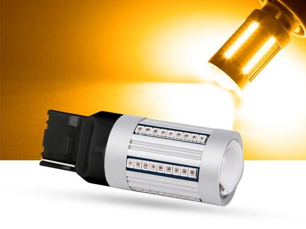66er 2016 SMD LED T20, LEDWY21W, orange, Canbus