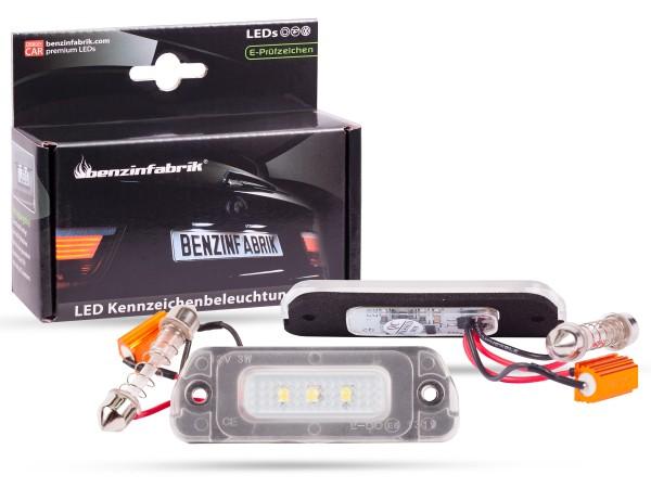LED Kennzeichenbeleuchtung Module Mercedes GL, mit E-Prüfzeichen