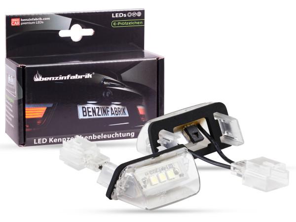 LED Kennzeichenbeleuchtung Module Citroen C5, C5 II, mit E-Prüfzeichen
