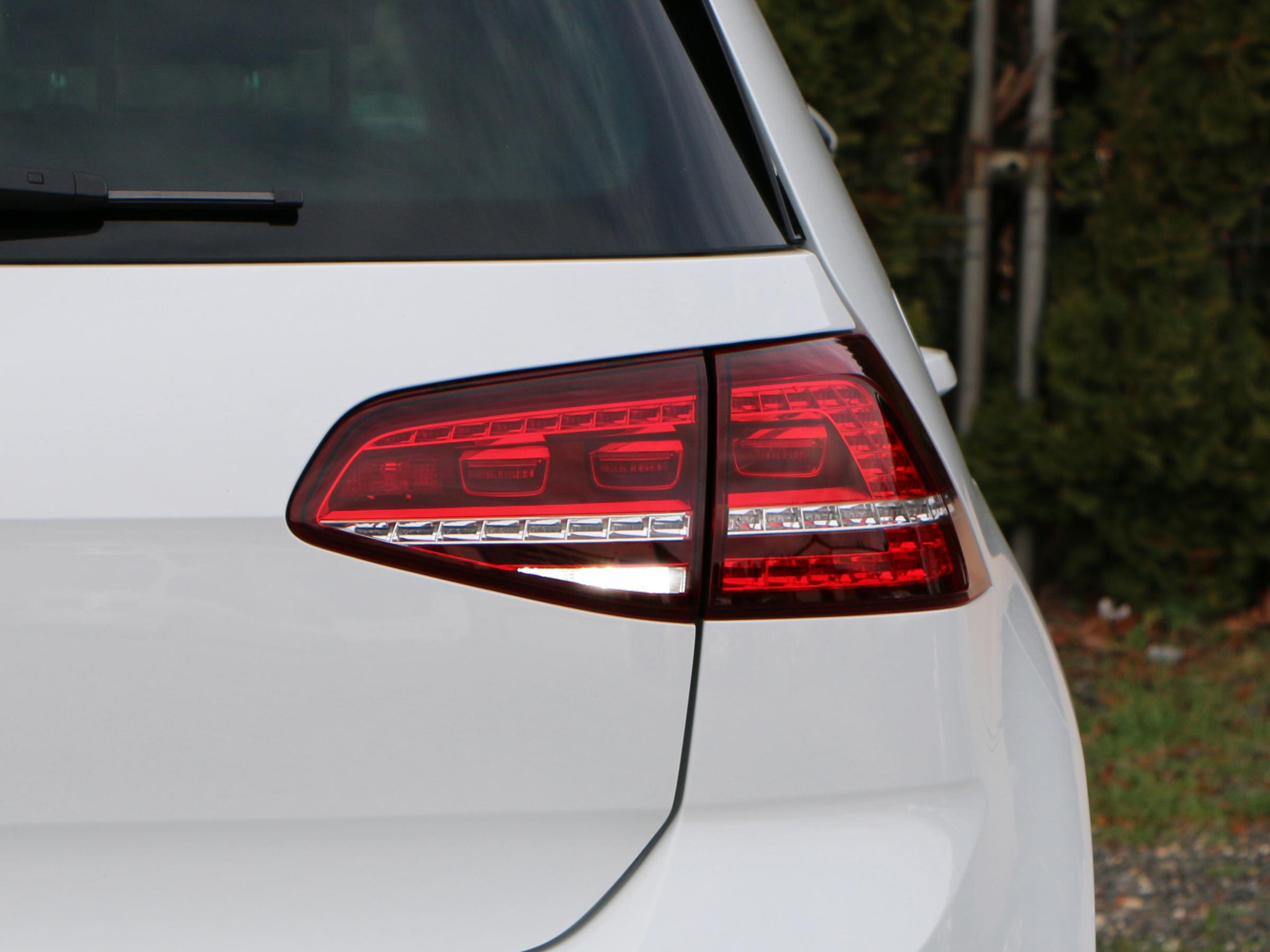 4x5 W CREE LED Rückfahrlicht VW Golf 7 mit LED Rückleuchten weiss