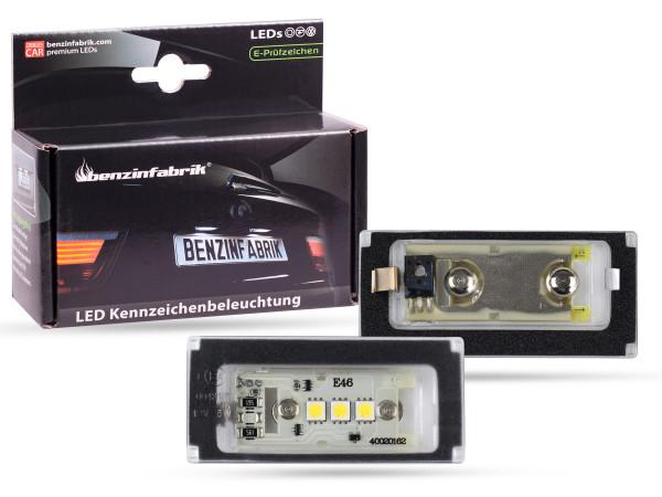 LED Kennzeichenbeleuchtung Module Mini Cabrio R52 Bj. 04-08, mit E-Prüfzeichen
