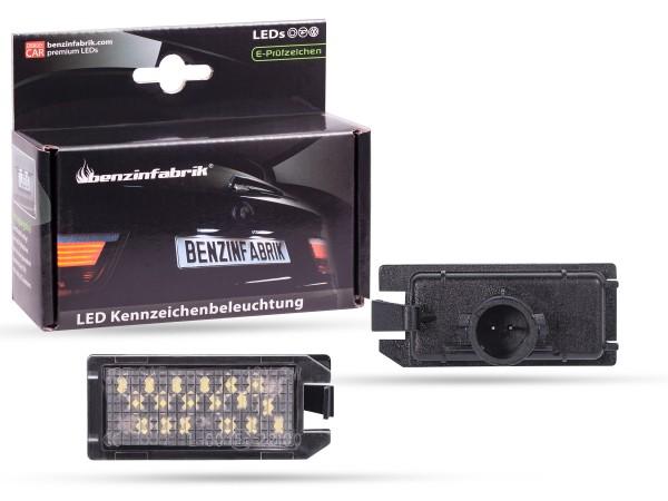 LED Kennzeichenbeleuchtung Module FIAT 500 Bj:13-18, mit E-Prüfzeichen
