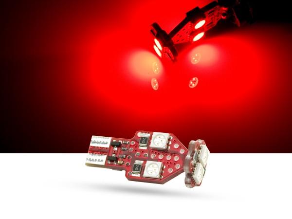 3 Watt SMD LED, T10, LEDW16W, rot, offroad