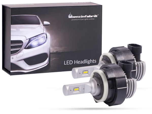 LED Abblendlichtset BMW E46 weiss