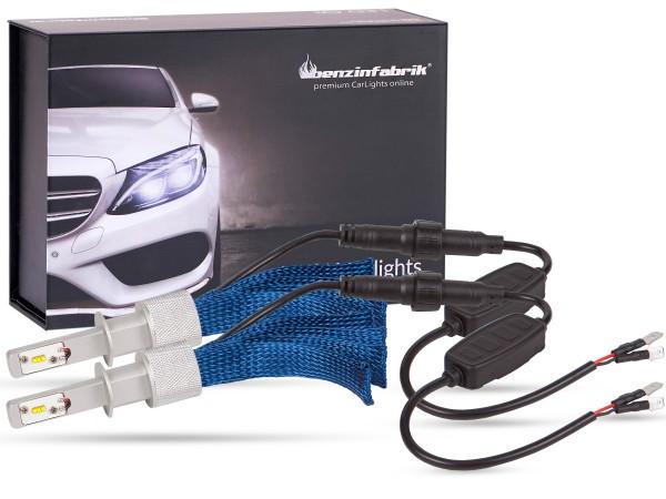 LED Abblendlichtset LEDH1 V2.1, weiss, BLUE striped Version