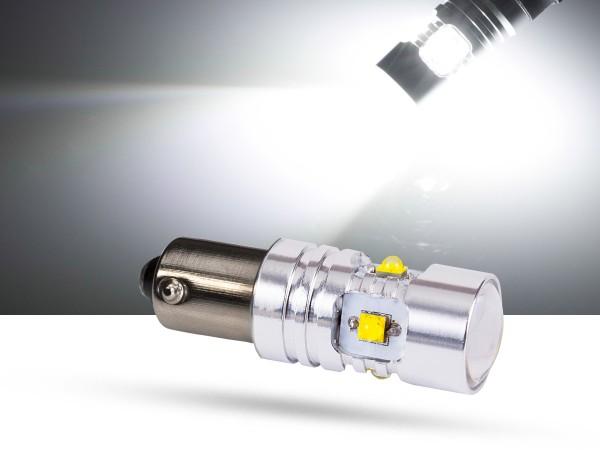 30 Watt, 6xCREE® LED, BAY9s LEDH21W, weiss