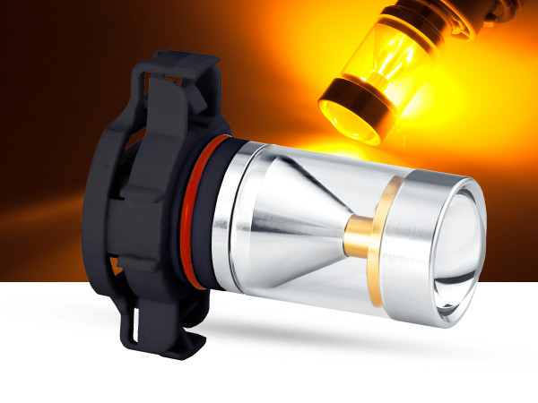 30 Watt, 6x5W CREE® LED PKD V2.0, LEDPSY24W, orange