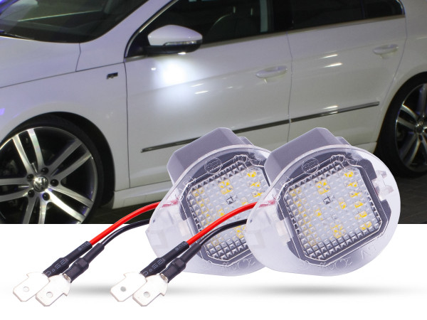 2er Set OEM LED Module für Umfeldbeleuchtung, Aussenspiegel, JEEP, Cherokee, Grand Cherokee