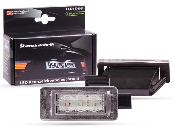 LED Kennzeichenbeleuchtung Module Peugeot 5008 SuV ab 2017, mit E-Prüfzeichen