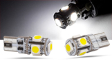 SMD LED Spots, weiss