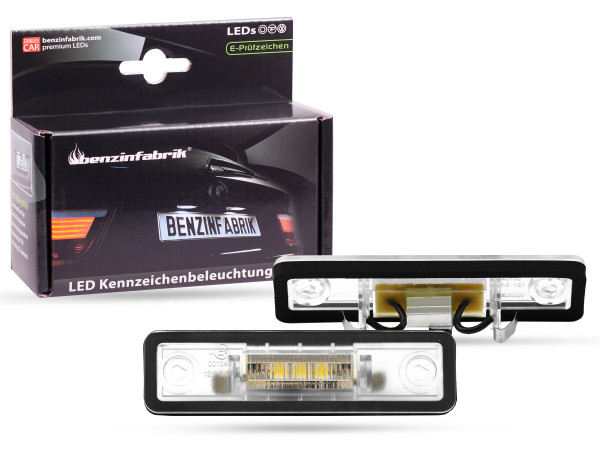 LED Kennzeichenbeleuchtung Module Opel