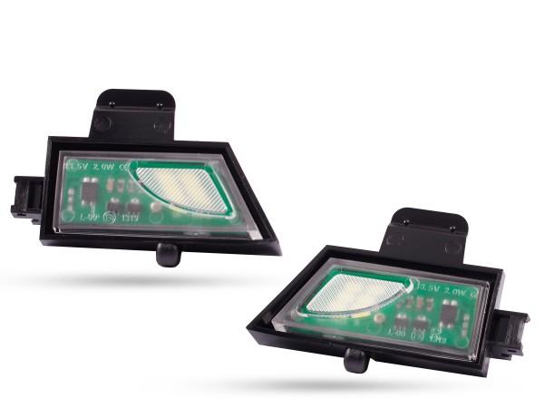 2er Set Upgrade LED Module für Umfeldbeleuchtung, Aussenspiegel, VW, Golf 7, uvm.