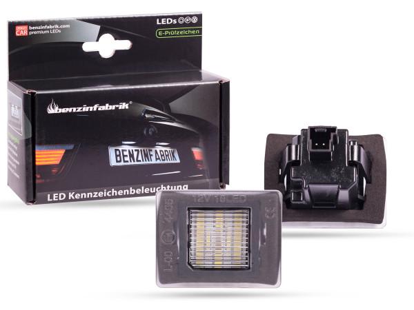 LED Kennzeichenbeleuchtung Module Mercedes GLA W156, mit E-Prüfzeichen
