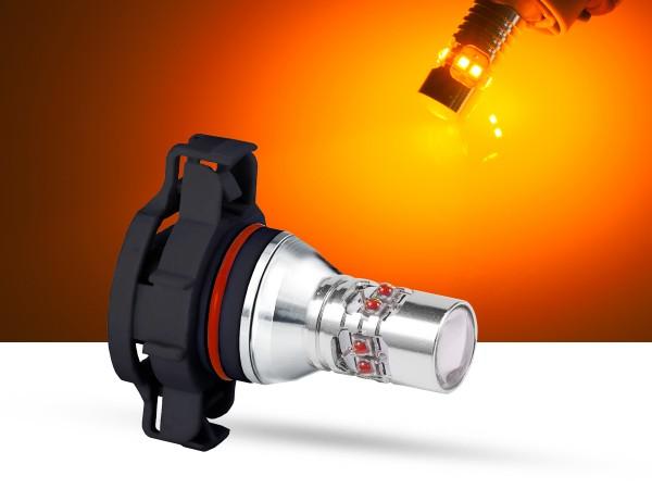 50 Watt, 10x5W CREE® LED V3.0, LEDPSY24W, orange