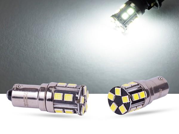 15er 2835 SMD LED, Glassockel T4W LEDBa9s, CAN-bus