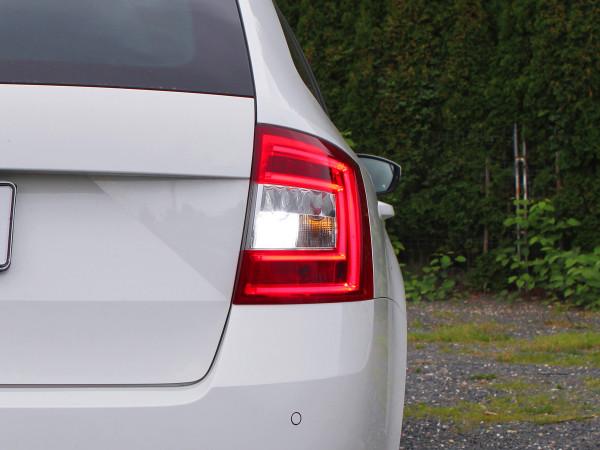 4x5 W CREE® LED Rückfahrlicht Skoda Octavia 3, Typ 5E, weiss