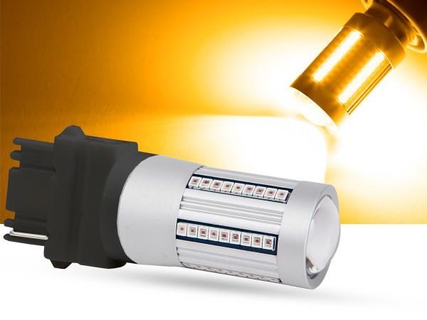 66er 2016 SMD LED 3156, LEDP27W, orange, Canbus
