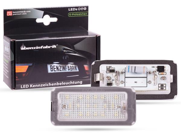 LED Kennzeichenbeleuchtung Module Fiat 500, Bj: 07-16, mit E-Prüfzeichen