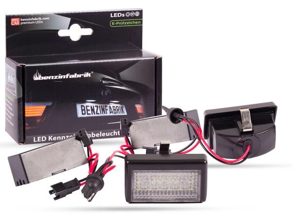 LED Kennzeichenbeleuchtung Module Mercedes M-Klasse W164, mit E-Prüfzeichen