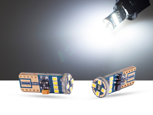 12er 2016SMD LED, Glassockel T10 LEDW5W, CAN-bus