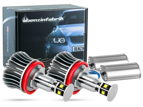 20W LEDH8 Brenner für BMW mit 4x5W Cree LED, V2 Angel Eyes 1er, 3er, 5er, 6er, X1, X5, X6, offroad