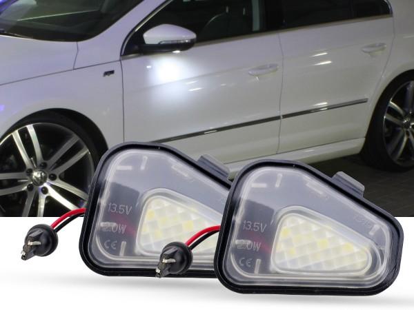 2er Set OEM LED Module für Umfeldbeleuchtung, Aussenspiegel, VW, Passat B7, Passat CC