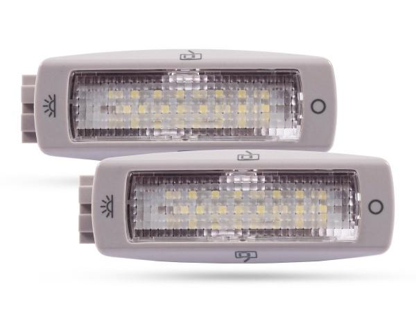 OEM Innenraumbeleuchtung, 24 SMD LED, Einsatz für VW, Skoda, weiß